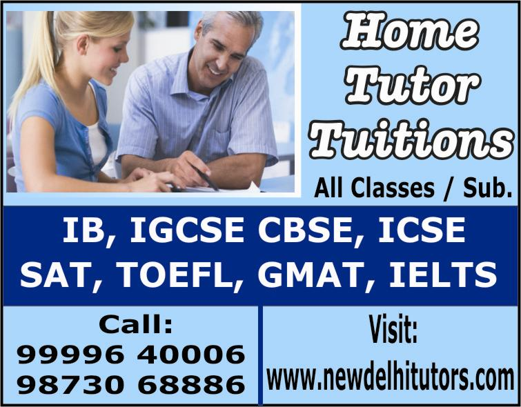 New Delhi Home Tutors