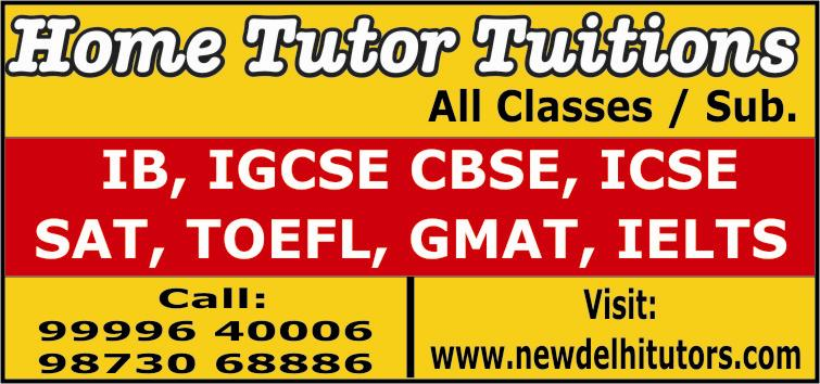 Panchsheel Park home tutors new delhi