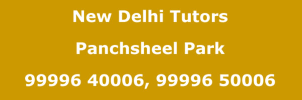 Panchsheel Park Home Tutors
