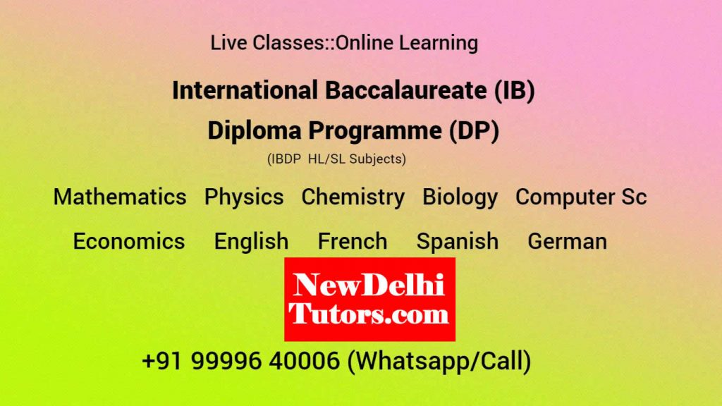 IB Diploma Tutors Tuition Coachings All Subject Online Class (3)